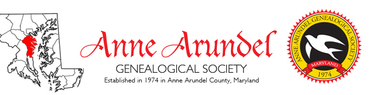 Anne Arundel Genealogical Society